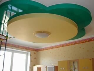 Как появился натяжной потолок?