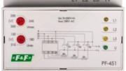АВР для однофазной сети и переключатель фаз PF-451